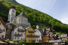 Hallstatt, Österreich Stockbild