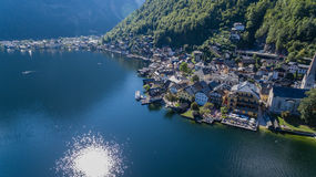 Hallstatt in Österreich Royalty Free Stock Photo