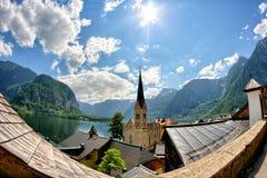 Hallstatt Österrike Royaltyfri Foto