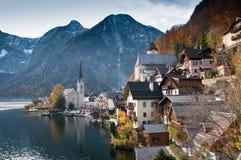 Hallstatt Österrike arkivbilder