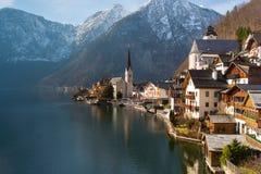 Hallstatt Österrike Arkivbild