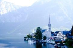 Hallstatt (Österrike) Arkivfoto