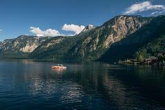 Hallstatt, λίμνες και θαυμάσια φύση Στοκ Φωτογραφία