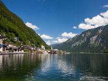 Hallstatt в Австрии, Европе Стоковые Фото