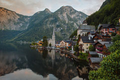 Hallstatt, озера и чудесная природа Стоковые Фотографии RF