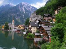 Hallstatt. A UNESCO World Heritage Site Royalty Free Stock Image
