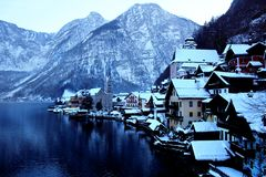 hallstatt Stockfotos