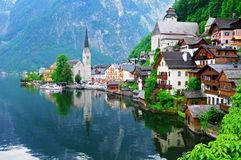 Hallstatt, Austria. The favorite spot of Hallstatt, Austria in May 2011 Royalty Free Stock Photo