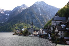 Hallstatt austria royalty free stock images