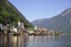 Hallstatt, Austria. Dream-like town in Hallstatt Austria Stock Image