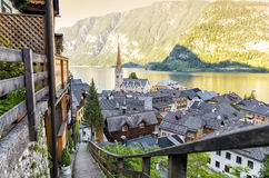 Hallstatt in Austria, Europe Royalty Free Stock Photography