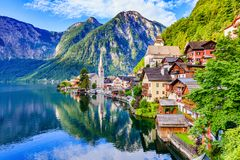 Hallstatt, Austria. royalty free stock photography
