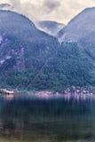 Hallstatt Austria iconic town Royalty Free Stock Image