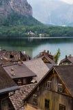 Hallstatt Austria iconic town Royalty Free Stock Photos