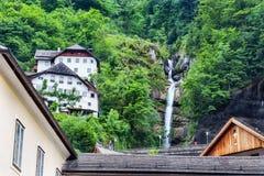 Hallstatt Austria iconic town Stock Images