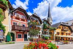 Hallstatt, Austria. royalty free stock images