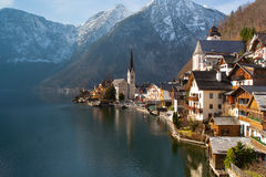 Hallstatt Austria Stock Photography