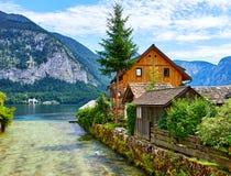 Free Hallstatt Austria Traditional Wooden Austrian House Royalty Free Stock Photo - 114303255