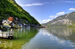 Hallstatt in Austria Royalty Free Stock Photos