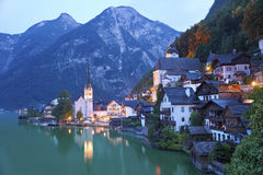 Hallstatt, Autriche. Photo stock