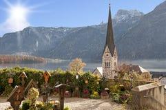 Hallstatt, Autriche Photos libres de droits