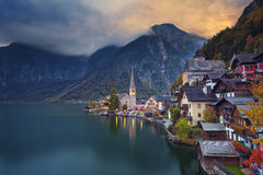 Hallstatt, Autriche Photo stock