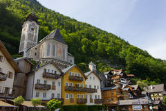 Hallstatt, Autriche image stock
