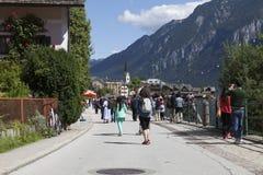 Hallstatt. The beautiful town of Hallstatt in Austria Stock Photography