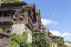 Hallstatt. The beautiful town of Hallstatt in Austria Royalty Free Stock Photography