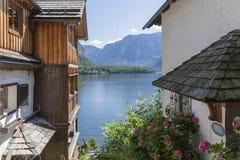 Hallstatt. The beautiful town of Hallstatt in Austria Royalty Free Stock Image