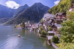 Hallstatt. The beautiful town of Hallstatt in Austria Royalty Free Stock Photo