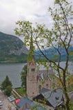 Hallstatt church Royalty Free Stock Photo