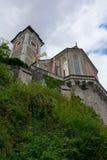 Hallstatt church Stock Photo