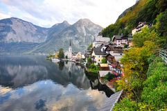 Hallstatt church Royalty Free Stock Image