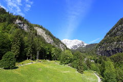 Hallstatt, de mooiste meerstad in de wereld, Oostenrijk. Royalty-vrije Stock Foto's