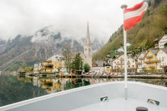 Hallstatt Dorf in Österreich Stockbilder