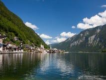 Hallstatt em Áustria, Europa Fotos de Stock