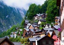 Hallstatt en Autriche Images libres de droits