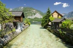 Hallstatt en Autriche, l'Europe Photographie stock