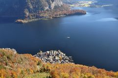 Hallstatt, Hallstatt From Above Royalty Free Stock Image