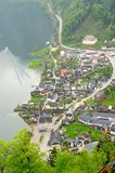 Hallstatt and Hallstatter See lake Royalty Free Stock Image