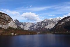 hallstatt jezioro obrazy stock