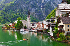 Hallstatt - l'Autriche photo stock