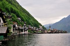 Hallstatt on the Lake Royalty Free Stock Image