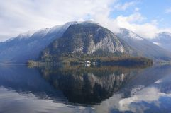 Hallstatt lake Royalty Free Stock Photography