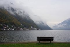 Hallstatt lake Stock Photography