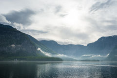 Hallstatt lake, Austria Royalty Free Stock Photo