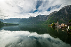 Hallstatt lake, Austria Stock Photo