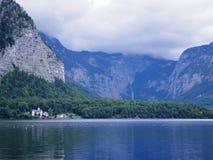 Hallstatt lake beautiful scene Royalty Free Stock Image
