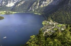 Beautiful Hallstatt in Austria royalty free stock images